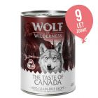 10 + 2 gratis! Wolf of Wilderness 12 x 300 g/400 g