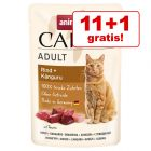 11 + 1 gratis! 12 x 85 Animonda Carny pliculețe