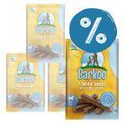 105 + 7 gratis! 2 x 56 buc  Barkoo Snackuri dentare