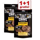 1 + 1 gratis! 2 x Crave Protein Snack
