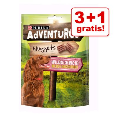 3 + 1 gratis! 4 x 300 g AdVENTuROS Nuggets