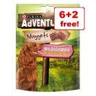 6 + 2 gratis! 8 x 300 g AdVENTuROS Nuggets