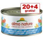 20 + 4 gratis! 24 x 70 g Almo Nature