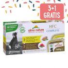 3 + 1 gratis! 4 x 85 g Almo Nature HFC Complete Pacco misto per cani