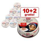 10 + 2 gratis! 12 x 80 g Animonda Carny Ocean