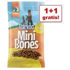1 + 1 gratis! 2 x  200 g Barkoo Mini Bones (semi-umede)