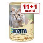 11 + 1 gratis! 12 x 410 g Bozita