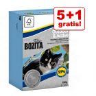 5 + 1 gratis! 6 x 190 g Bozita Feline Tetra Pak