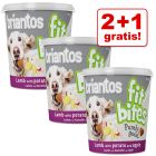 "2 + 1 gratis! 3 x 150 g Briantos ""FitBites"" Hundesnacks"
