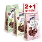 2 + 1 gratis! 3 x 30 g Bunny Mixpack Snacks 90 g