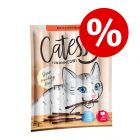 35 + 15 gratis! 50 x 5 g Catessy Sticks