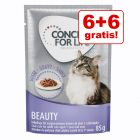 6 + 6 gratis! 12 x 85 g Concept for Life Beauty - in salsa