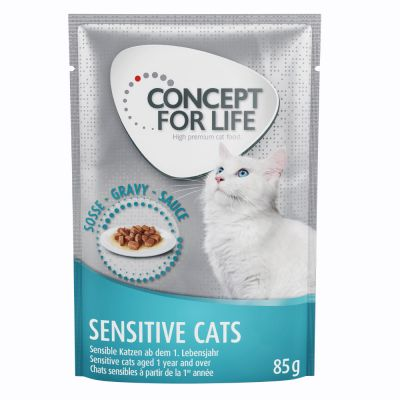 10 + 2 gratis! 12 x 85 g Concept for Life Cat