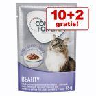 10+2 gratis! 12 x 85 g Concept for Life Katzennassfutter zum Probieren!