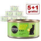 5 + 1 gratis! 6 x 85 g Cosma Original und Asia