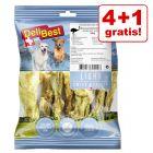 4 + 1 gratis! 5 x 200 g DeliBest Light Tendini di struzzo