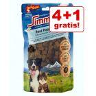 4 + 1 gratis! 5 x 180 g DeliBest Simmental Rindfleisch Würfel 900 g