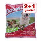2 + 1 gratis! 3 x 450 / 500 g DogMio Barkis