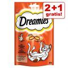 2 + 1 gratis! 3 x 60 g Dreamies grickalica za mačke