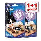 1 + 1 gratis! 2 x 40 g Felix Mini Filetti 80 g