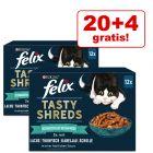20 + 4 gratis! 24 x 80 g Felix Succulent Grill pour chat