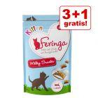 3 + 1 gratis! 4 x 30 g Feringa Kitten Milky Snacks