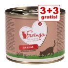 3 + 3 gratis! 6 x 200 g Feringa Menù Duetto Anatra & Vitello