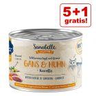 5 + 1 gratis! 6 x 180 g / 195 g / 380 g / 400 g Sanabelle All Meat