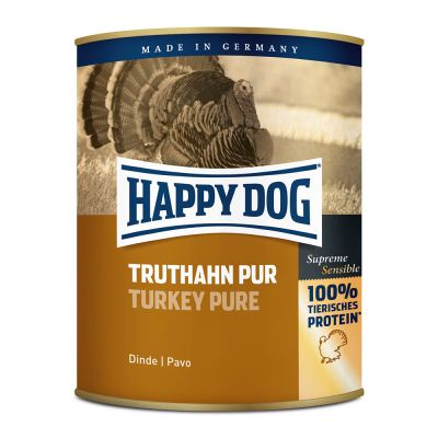 5 + 1 gratis! 6 x 400 g / 800 g Happy Dog Pur
