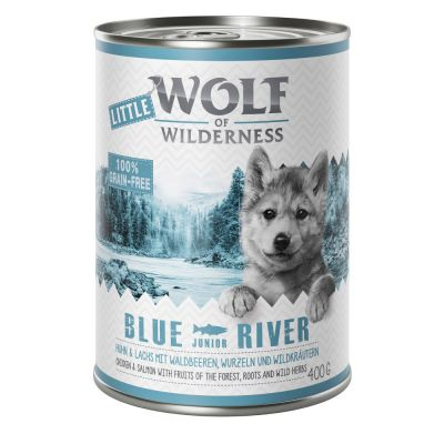 11 + 1 gratis! 12 x 300 g/ 400 g Wolf of Wilderness