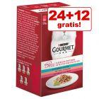 24 + 12 gratis! 36 x 50 g Gourmet Mon Petit