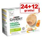24 + 12 gratis! 36 x 85 g Gourmet Nature's Creations