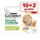 10 + 2 gratis! 12 x 85 g Gourmet Nature's Creations