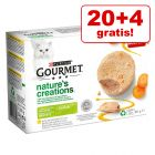 20 + 4 gratis! 24 x 85 g Gourmet Nature's Creations