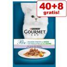 40 + 8 gratis! 48 x 85 g Gourmet Perle natvoer