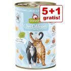 5 + 1 gratis! 6 x 400 g GranataPet DeliCatessen
