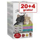 20 + 4 gratis! 24 x 85 g GranataPet Filet à la carte misto