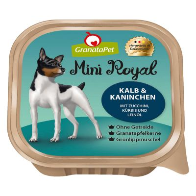5 + 1 gratis! 6 x 150 g GranataPet Mini Royal