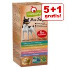 5 + 1 gratis! 6 x 150 g GranataPet Mini Royal Pacco misto