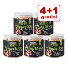 4 + 1 gratis! 5 x 60 g Greenwoods Veggie Süßkartoffel mit Kürbis und Karotte