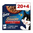 20 + 4 gratis! 24 x 85 g Latz portionsposer