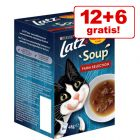 12 + 6 gratis! 18 x 48 g Latz Soup