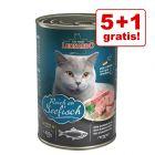 5 + 1 gratis! 6 x 400 g Leonardo All Meat