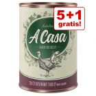 5 + 1 gratis! 6 x 400 g Lukullus A Casa / 5.48 lei conserva
