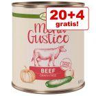 20 + 4 gratis! 24 x 800 g Lukullus Menu Gustico - Senza cereali
