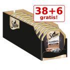 38 + 6 gratis! 44 x 85 g Megapack Sheba Tăvițe