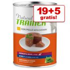 19 + 5 gratis! 24 x 400 g Natural Trainer Medium/Maxi