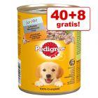 44 + 4 gratis! 48 x 400 g Pedigree Classic hrană umedă câini