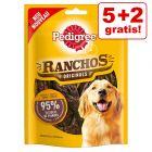 5 + 2 gratis!  7 x 70 g Pedigree Ranchos Hundesnacks