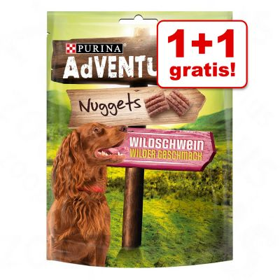 1 + 1 gratis! 2 x 300 g Purina AdVENTuROS Nuggets